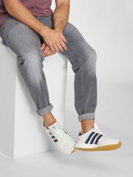 Jack & Jones Løstsittende bukser jjiMike jjOriginal grå