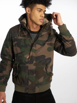 Jack & Jones Lightweight Jacket jorNew Bento camouflage