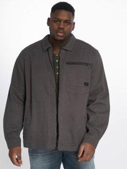 Jack & Jones Lightweight Jacket jcoStation Shacket One Pocket gray