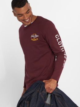 Jack & Jones Longsleeve Jorfara rood