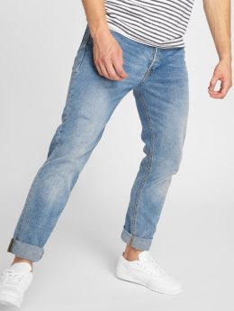 Jack & Jones Loose Fit Jeans jjiMike jjOriginal blå