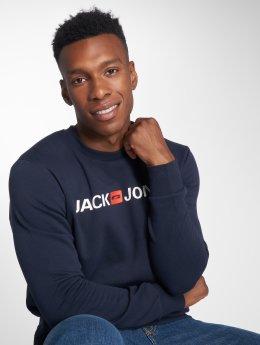 Jack & Jones Maglia jjeCorp Logo blu