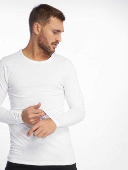 Jack & Jones Maglietta a manica lunga Core Basic bianco