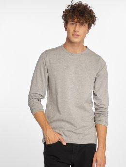Jack & Jones Maglietta a manica lunga Basic grigio