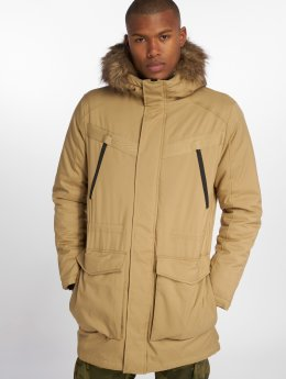 Jack & Jones Manteau hiver jcoEarth brun