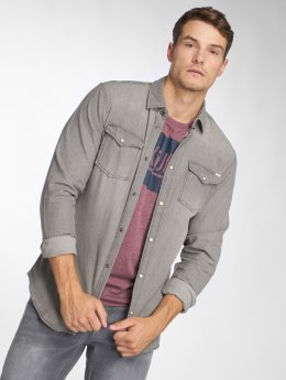 Jack & Jones overhemd jjeSheridan grijs