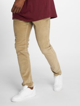 Jack & Jones Pantalon chino Jjimarco Jjcorduroy Akm 594 Aluminum Ltd beige