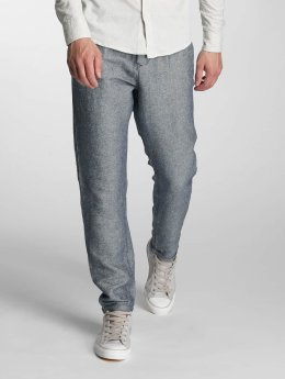 Jack & Jones Pantalon chino jjiRobert jjLinen bleu