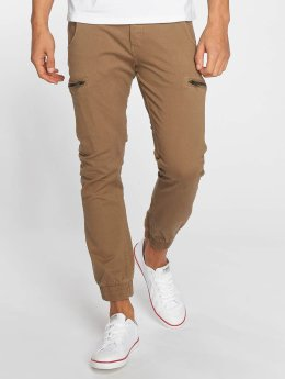 Jack & Jones Pantalon chino jjiPaul jjLogan brun