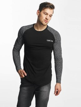 Jack & Jones Pitkähihaiset paidat jcoNoise Raglan musta