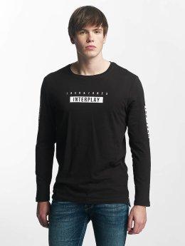 Jack & Jones Pitkähihaiset paidat jcoScend musta