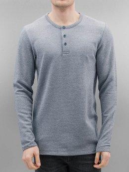 Jack & Jones Pitkähihaiset paidat 12118793 sininen
