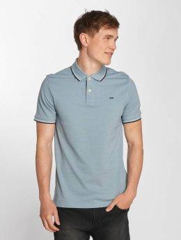 Jack & Jones Poloshirt jjeContrast Stripe blue
