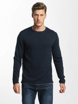 Jack & Jones Pullover jorEasy Knit blau