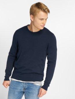 Jack & Jones Pullover jjeBasic blau