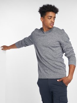 Jack & Jones Pullover jjeBasic Knit blau