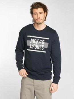 Jack & Jones Pullover jcoBlock blau