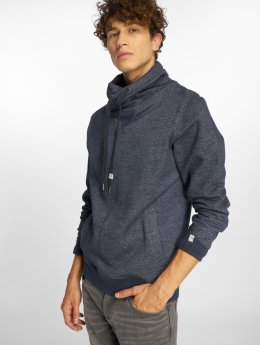 Jack & Jones Pullover Jorlano Cross Over High Neck blau