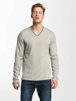 Jack & Jones Pullover jorEasy Knit grau