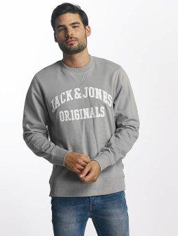 Jack & Jones Pullover jorWall grau