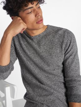 Jack & Jones Pullover jjeStructure grau