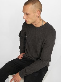 Jack & Jones Pullover jprPost Knit gray