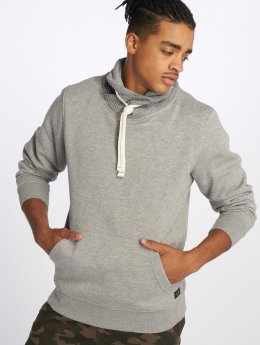 Jack & Jones Pullover Jorknitted High Neck gray