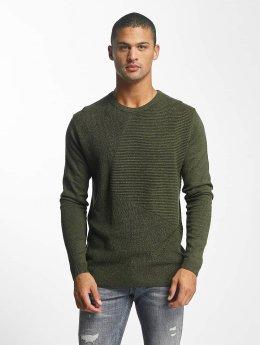 Jack & Jones Pullover jcoPenditon grün