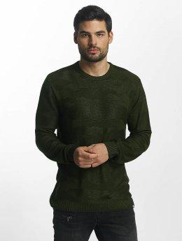 Jack & Jones Pullover jcoCamo grün
