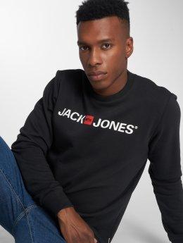 Jack & Jones Pulóvre jjeCorp Logo èierna
