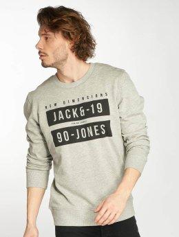 Jack & Jones Pulóvre jcoBlock šedá