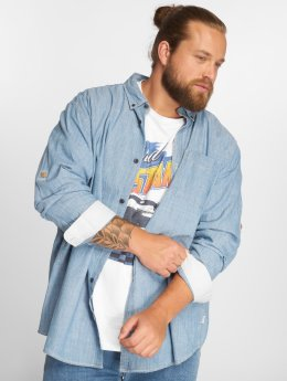 Jack & Jones Shirt jorClinton One Pocket blue