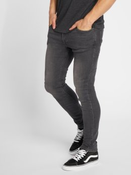 Jack & Jones Skinny Jeans jjiLiam jjOriginal šedá