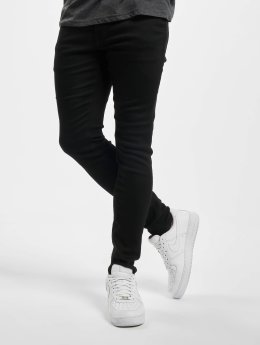 Jack & Jones Skinny jeans jjiLiam jjOriginal svart