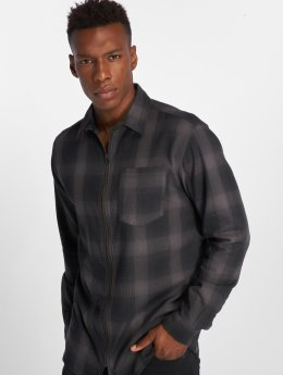 Jack & Jones Skjorte jorMason Zip grå