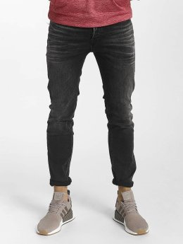 Jack & Jones Slim Fit -farkut jjiTim jjOriginal musta