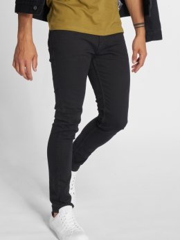 Jack & Jones Slim Fit Jeans jjiLiam jjOriginal èierna