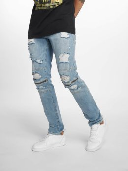 Jack & Jones Slim Fit Jeans Jjiglenn Jjcharlie Am 75 синий