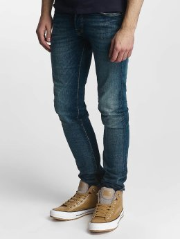 Jack & Jones Slim Fit Jeans jjiGlenn blauw