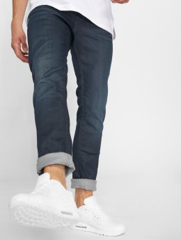 Jack & Jones Slim Fit Jeans Jjitim Jjicon Jj 120 blauw