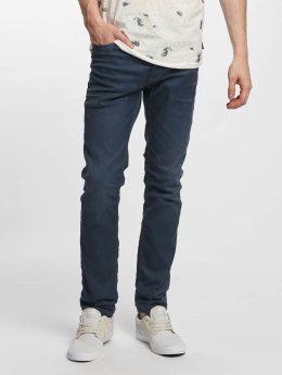 Jack & Jones Slim Fit Jeans jjTim Original JJ 420 modrá