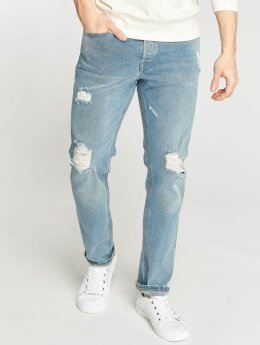 Jack & Jones Slim Fit Jeans jjiTim modrá