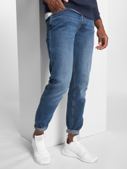 Jack & Jones Slim Fit Jeans jjiTim modrá