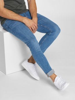 Jack & Jones Slim Fit Jeans jjiLiam jjOriginal modrá