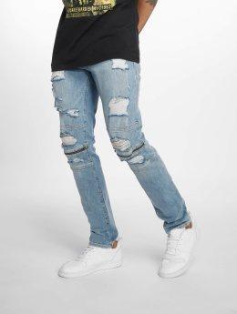 Jack & Jones Slim Fit Jeans Jjiglenn Jjcharlie Am 75 modrý