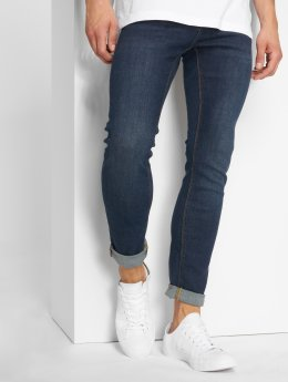 Jack & Jones Slim Fit Jeans Jjiglenn modrý
