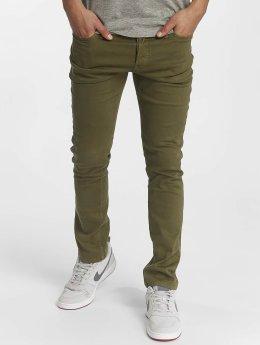 Jack & Jones Slim Fit Jeans jjiGlenn olijfgroen