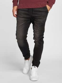 Jack & Jones Slim Fit Jeans jjiVega JJLane schwarz