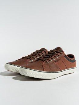 Jack & Jones sneaker jfwRoss PU Mix bruin