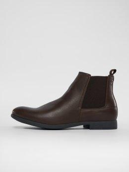 Jack & Jones Støvler  jfwAbbott PU brun